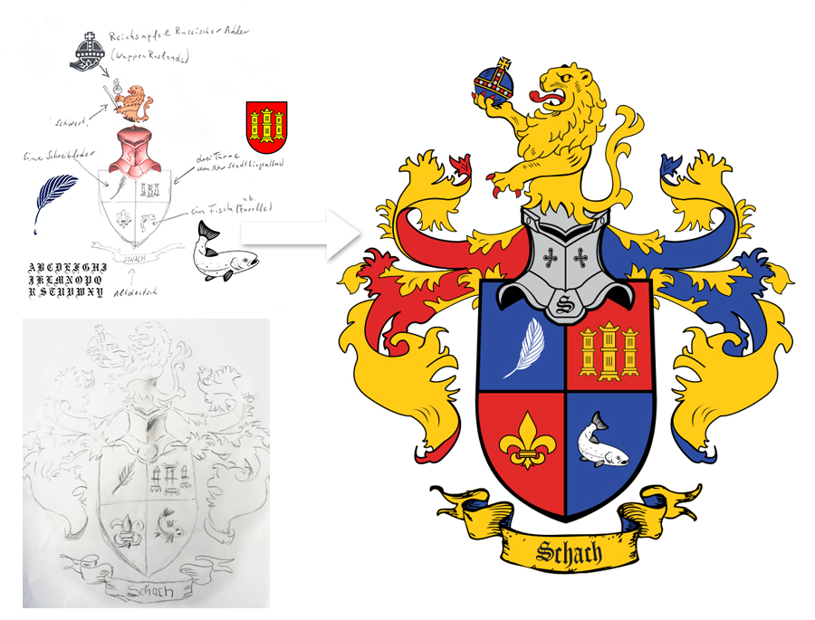 ❤ Wappen erstellen Erstellung Design Wappengestaltung Design ...