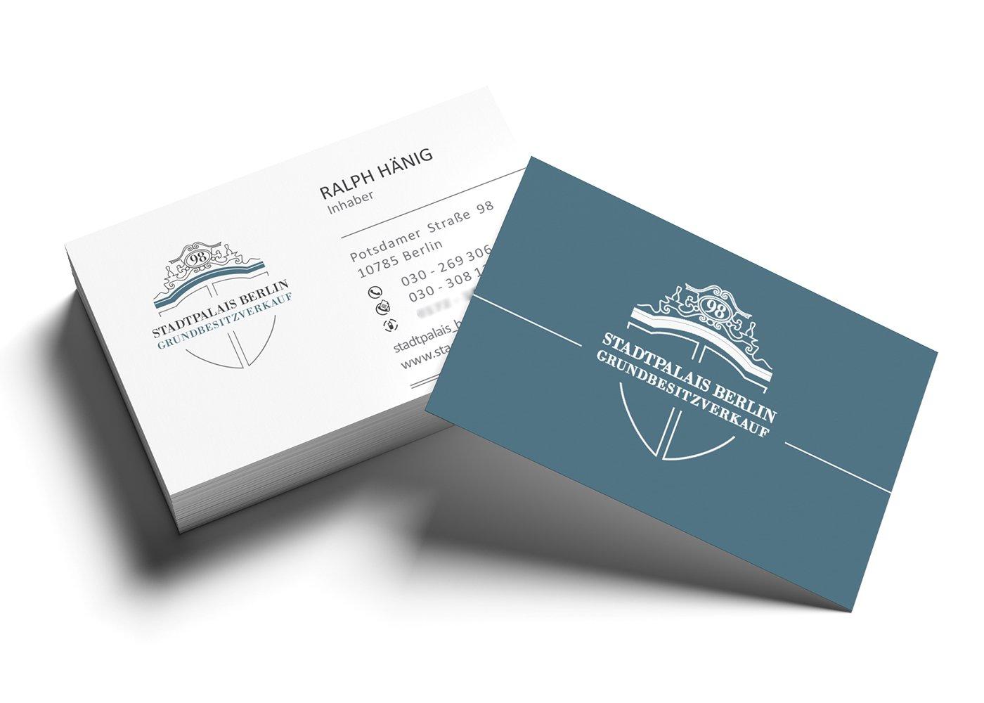 Visitenkarten Erstellen Und Drucken Lassen Preiswert In Berlin