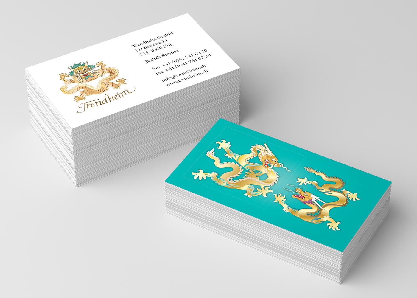 Visitenkarten Druck Design Gestaltung Erstellung Entwurf